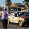Volunteer traffic director shows up daily in the main medan in Misrata as the city turns back to everyday life