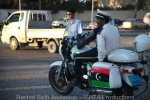 """Order begins to appear as a """"Free Libya"""" police presence is seen in the streets"""
