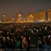 Crowd waits for Mubarak to speak in Tahrir