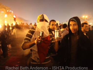 First experience of tear gad in Tahrir on Jan 25