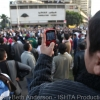 Young boy captures thousands of protestors marching from Giza on Jan 28