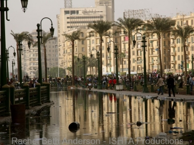 Morning after protestors battled police to enter Tahrir on Jan 28