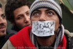 His brothers were killed on Jan 28 and vowed to stay until Mubarak stepped downuntil