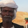 Elderly Bedouin man whose face tells so many stories