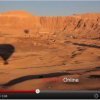 Sunrise hot air balloon over Valley of the Kings
